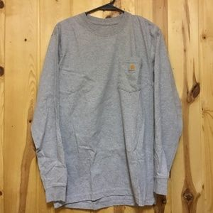 New in Plastic Carhartt Long Sleeve Tee Men Small